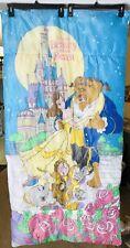 "Vintage Beauty and the Beast Kid's Children's Sleeping Bag 54"" x 28"" Disney"