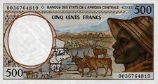 East African States - Tchad billet neuf de 500 francs pick 601g UNC