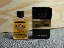 miniature BOURGEOIS Or Masculin 4 ml vintage ancienne nr 1