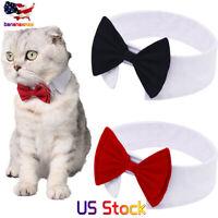 Puppy Cat Toy Bow Tie Necktie Clothes Handsome Cat Puppy Necktie  Festival Decor