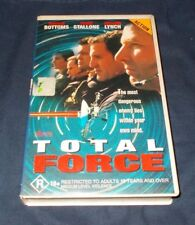 TOTAL FORCE VHS PAL FRANK STALLONE 1996