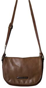 NWOT Capezio Handback Purse Brown Leather Excellent Condition