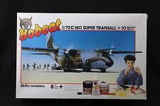 YR003 HELLER 1/72 maquette avion 3003 Transall C-160 Super + 10 Bobcat C160