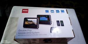 NEW! RCA Double Play Mobile DVD System DRC62705E24G