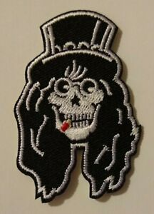 """Guns N' Roses~PATCH~Slash Skeleton~Embroidered~2 3/4"""" x 1 3/4""""~Iron or Sew On"""