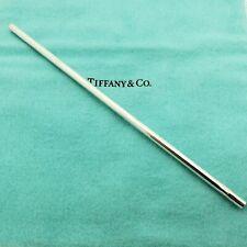 Rare Tiffany & Co. 925 Sterling Silver Single (1) Drinking Straw 7.25' Inch