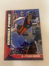 Tyler Moore Card 2018 Binghamton Rumble Ponies Team Card