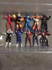 Marvel Capcom Superhero Villian Bundle Lot (17) Action Figures