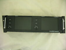 vaddio PreVIEW Dual 6.4 Rack Mount Monitor Model No 999-5500-002