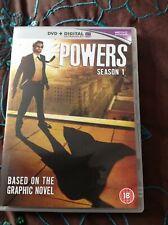 POWERS COMPLETE SEASON 1 (3-DISC DVD SET)