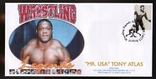Mr Usa Tony Atlas Wrestling Legends Souvenir Cover
