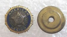 Vintage American Legion Veteran Member Lapel Pin-Screw Back