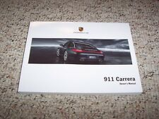 2009 Porsche 911 Carrera Owner User Manual Cabriolet Convertible S 4S Targa GTS