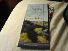 2012 TRAIL OF THE MOUNTAIN SPIRITS NATIONAL SCENIC BYWAY BROCHURE & MAP