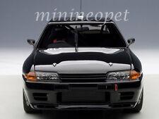 AUTOART 89280 NISSAN SKYLINE GT-R R32 AUSTRALIAN BATHURST 1992 1/18 PLAIN BLACK