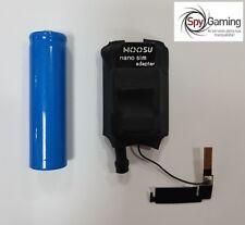 Mini allarme telefonico e microspia GSM con attivazione vocale e registrazione