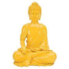 PENN-RR1962-Penn Plax 64655 Deco Replicas Sitting Buddha, Large, Yellow