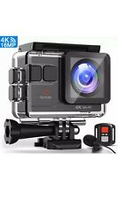 Victure AC700 4K Action Waterproof 40M Video Camera  40M with Remote Control