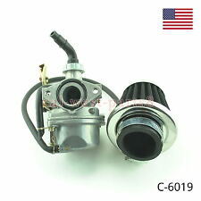 Carburetor W/air filter For 4 stroke 50cc 70cc 90cc 110cc ATV Dirt Bikes Gokarts
