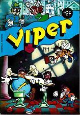 Viper N°1 (Andréas, Mr Picotto, Druillet, Max, Shawn Kerry, Dan Steffan...) 1981