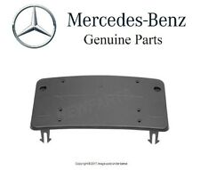 NEW OEM Mercedes W205 C300 C350e C450 C63 AMG Front License Plate Base Genuine