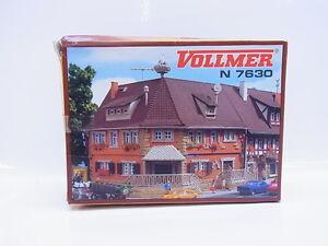 Lot 27373 Vollmer N 7630 Eckhaus Marktstr. No. 2 Kit Neuf Emballage D'Origine