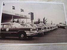 1960 DODGE POLICE CAR FLEET  11 X 17  PHOTO  PICTURE