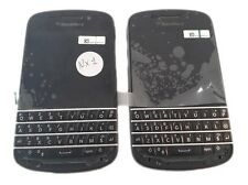2 Lot Blackberry Q10 16GB  Smartphone New Handsets Bad Software Lcd keypad Back
