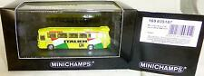 ITALY FOOTBALL WC 1974 Mercedes Benz O302 Minichamps 1:160 orig. Packaging # µ