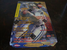 1999 Edge Masters Football Box---Hobby---Factory Sealed--20 Packs--With PSA Card