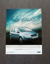 [GCG] K208- Advertising Pubblicità -2003- FORD FOCUS C-MAX