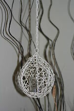 Wirework birds nest tea light holder