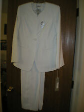 Tally Taylor 3 pc. white pant suit