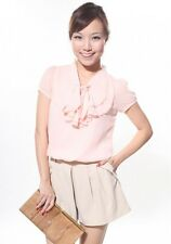 Love Bonito Beverly Blouse in Blush