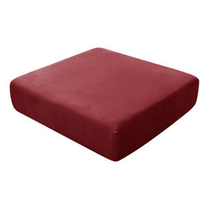 Velvet Sofa Covers Set Sectional 2 3 Seater Recliner L Shape Stretch Protector