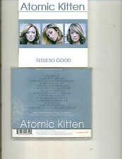 ATOMIC KITTEN - FEELS SO GOOD - 2004 UK CD ALBUM