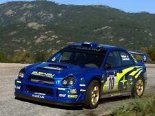 1/10 Subaru Imrreza WRC2002  195mm RC Car Transparent Body PVC
