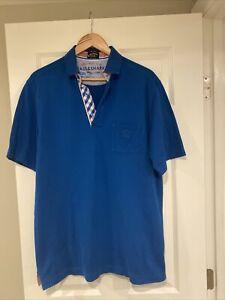 Paul & Shark Yacht Club North Atlantic Cup Men's Short Sleeve Collared Polo XL