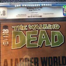 Walking Dead #95 CGC 9.8 THE SLEEPER 1st mention Negan Gregory Rachel 19 8 10 1
