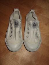 *H&M Sneaker Baumwolle weiss Gr. 28*