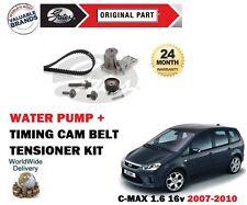 für Ford C MAX 1.6 16V 2007-2010 NEU ZAHNRIEMEN KIT + WASSERPUMPE SET