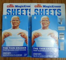 2-Pack Mr. Clean Magic Eraser Sheets Disposable Thin & Flex, 8 ct, 16 sht total