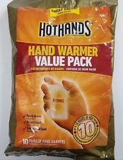 HotHands 10 Pairs of Hand Warmer 10 hour Natural Heat Exp 06/2021 Value Pack NEW