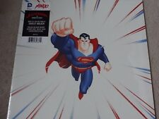 "MONDO SUPERMAN THE ANIMATED SERIES DIE-CUT RED 12"" VINYL RECORD MOND-048"