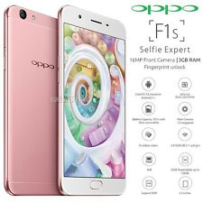 "New Unlocked OPPO F1S Rose Gold 5.5"" IPS LCD Dual SIM 4G LTE Android Cell Phone"