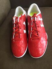 Under Armour Men's Speedform Flash Red/White  Indoor Soccer Shoes