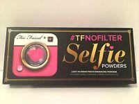 Too Faced # tfnofilter Selfie POUDRES filtrage léger Photo amélioration poudres