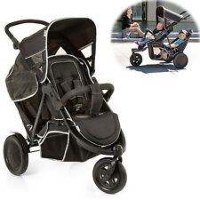 hauck Fun For Kids Geschwisterwagen »freerider Black« Kinderwagen
