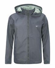 Nike Hooded Womens Full Zip Up Fleece Jacket Coat 270899 060 Y31A