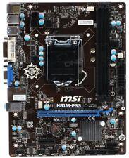 @LATEST BIOS@ MSI H81M-P33 Socket LGA 1150 MicroATX Motherboard DDR3
